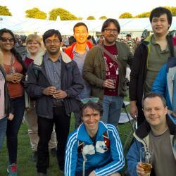 MML trip to Cambridge Beer Festival