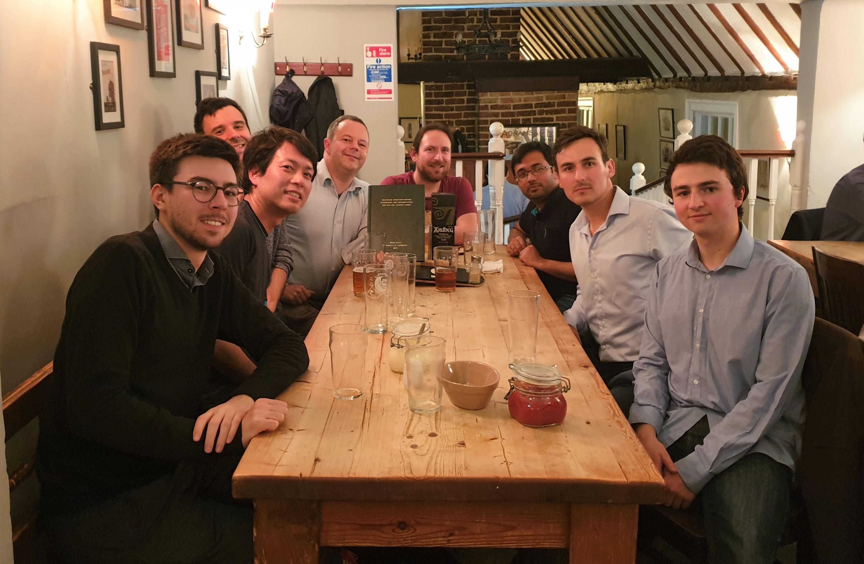 Peter's graduation pub trip