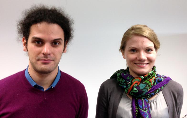 Anastassiia and Nicola, welcome to the MML group