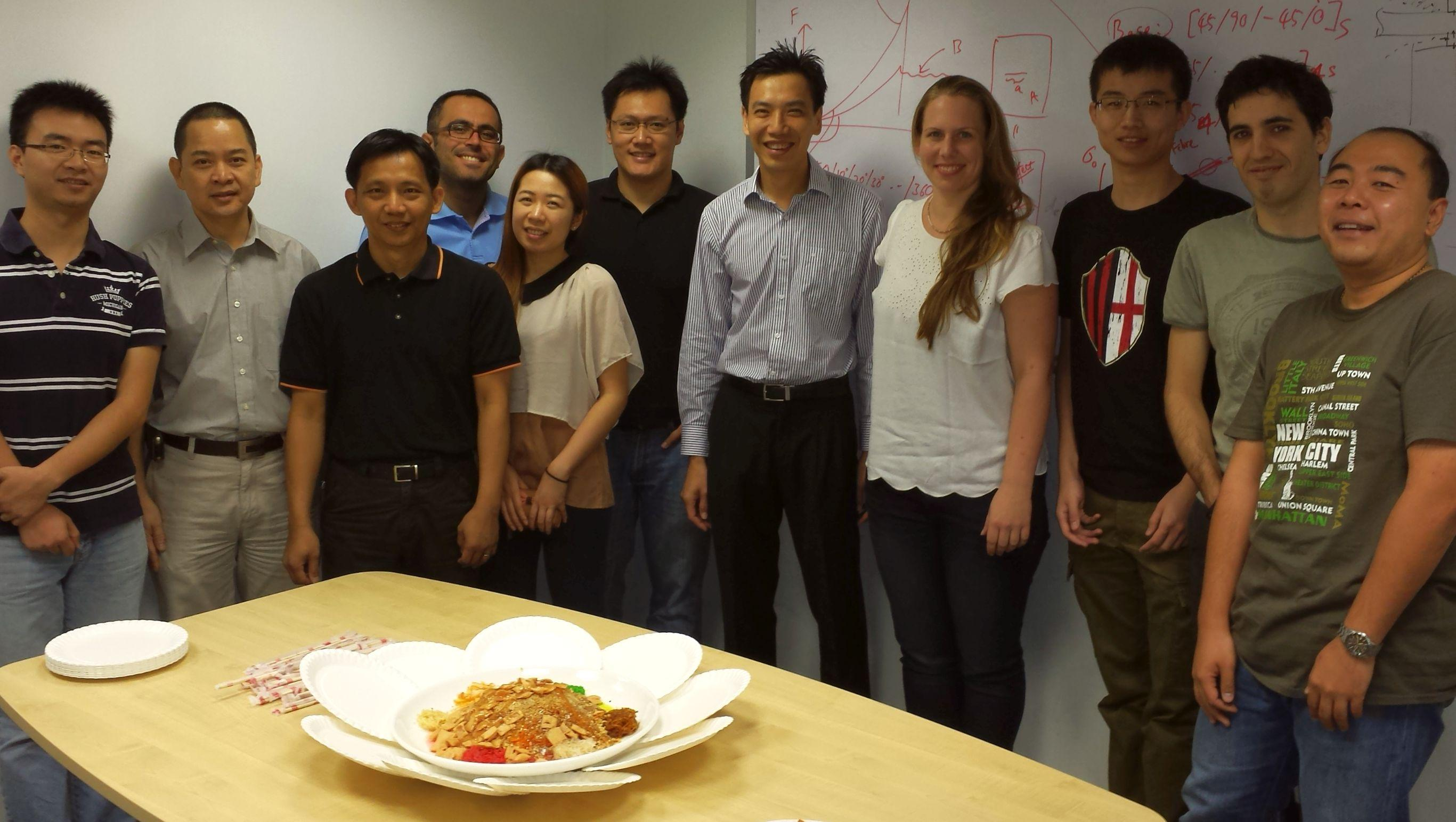 Happy New Chinese Year - Scientific visit to Singapore